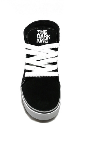 zapatillas the dark king. skate. hip hop. sucre. ng/fu