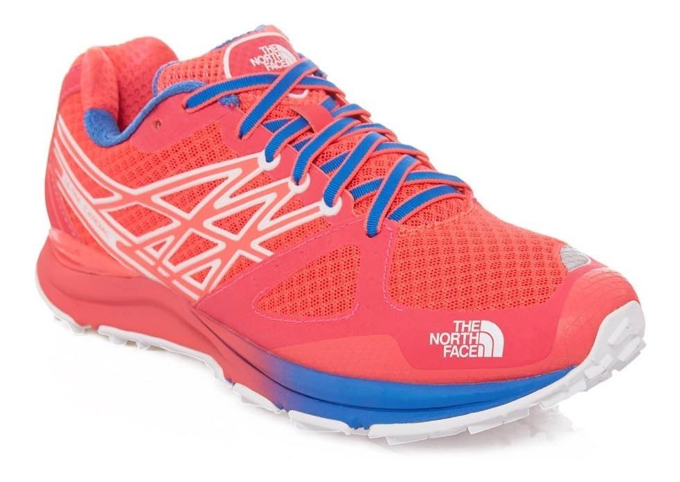 100% de alta calidad brillo de color mejores zapatos Zapatillas The North Face Mujer Ultra Cardiac Trail Running