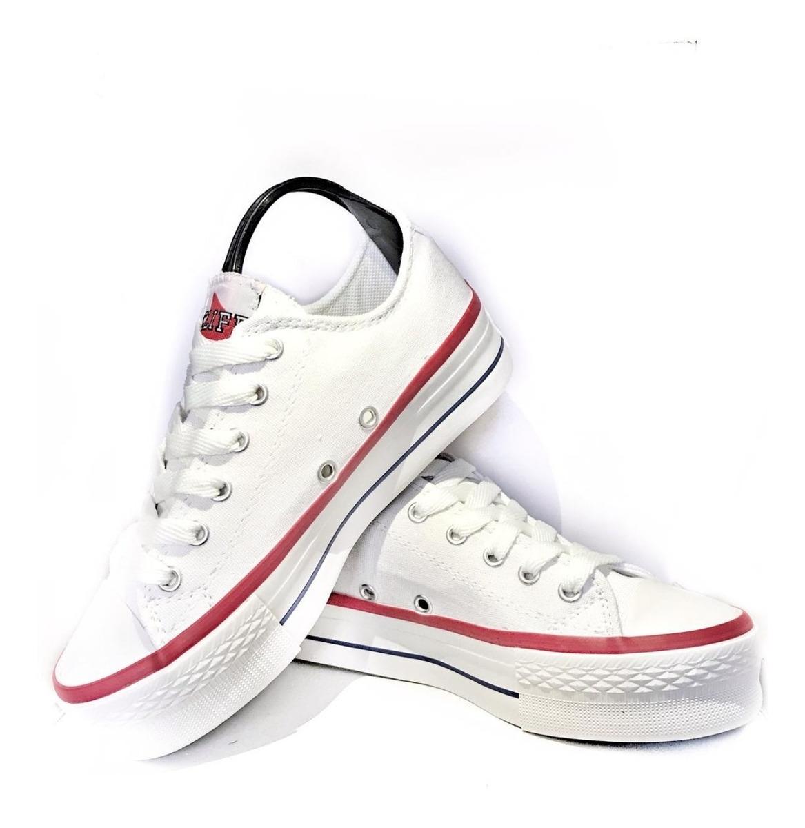 zapatillas de lona tipo converse