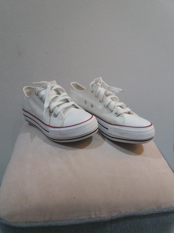 zapatillas tipo converse con plataforma