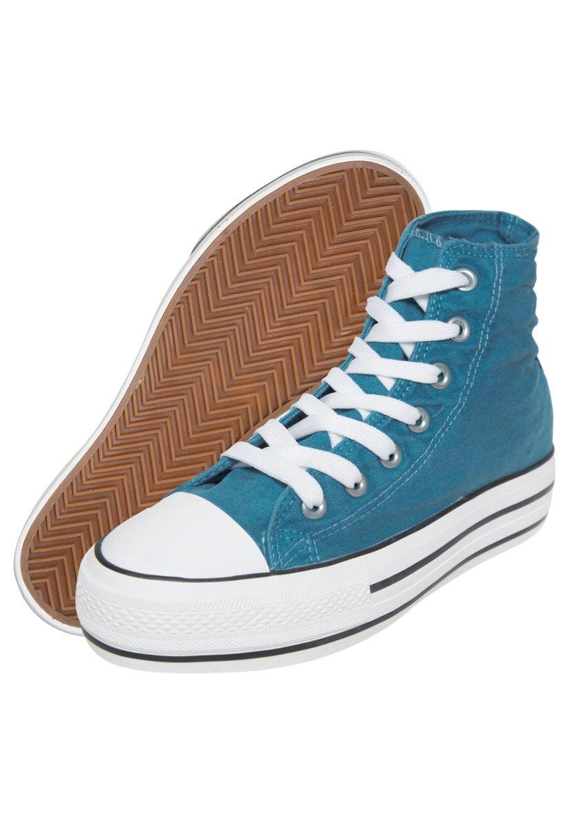 b26b1610 ... low cost zapatillas tipo converse plataforma. cargando zoom. cb84c f5e14