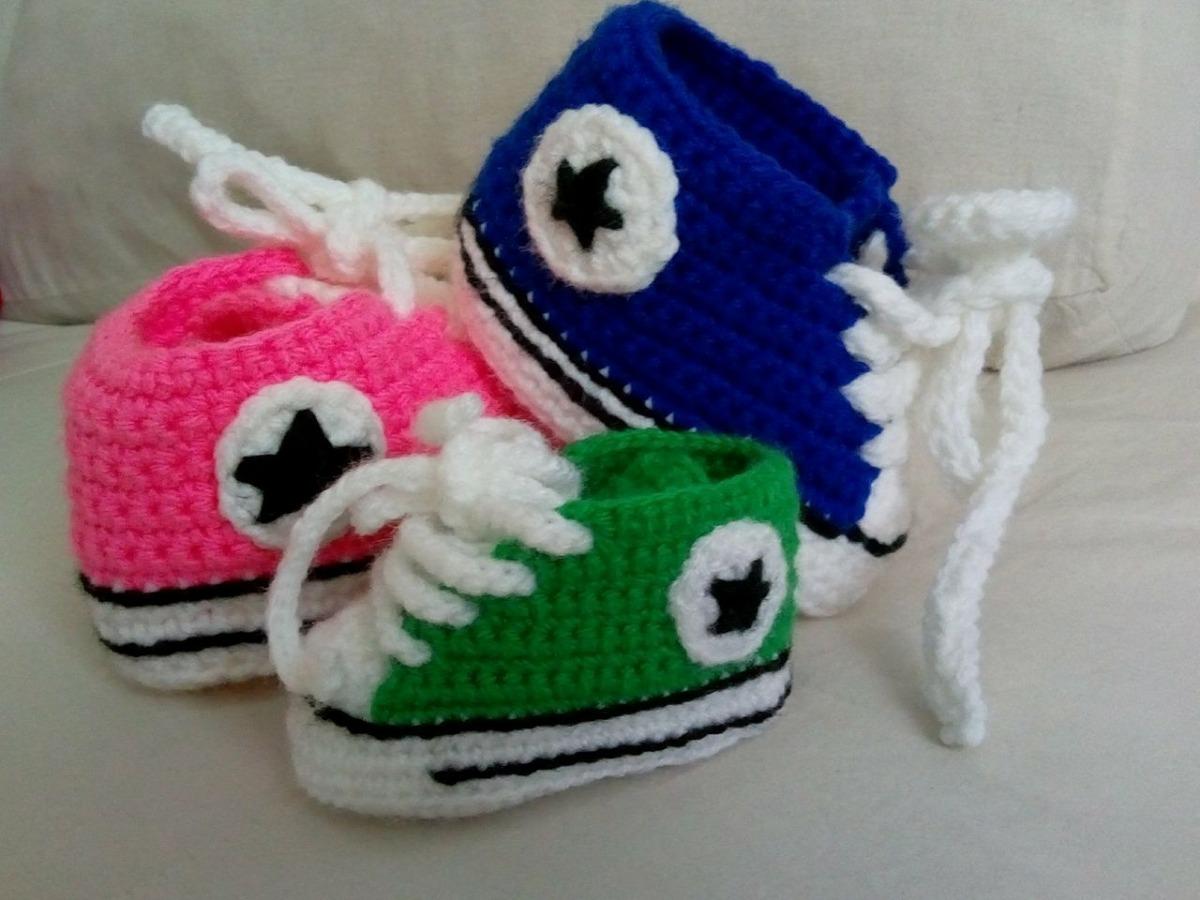 A CrochetCargando Zapatillas Zoom Tipo ConverseTejidas gf7yvbY6