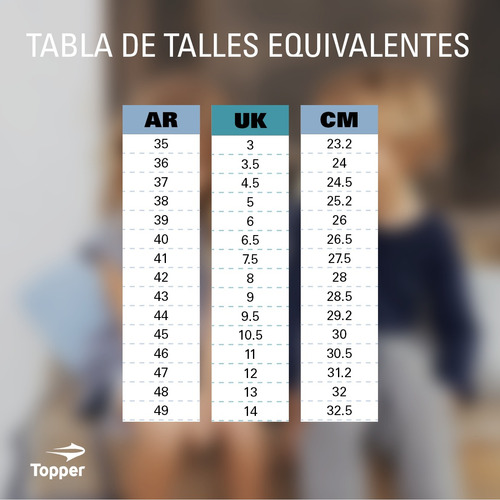 zapatillas topper c training dottir hombre ng/pl