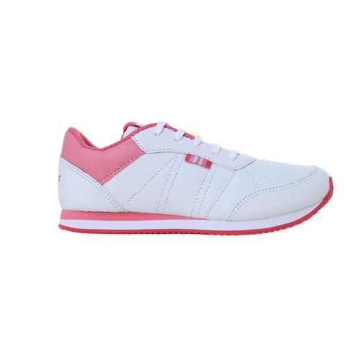 zapatillas topper moda theo cs kids niña bl/rs