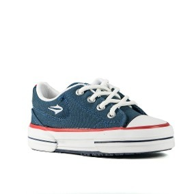 8a0605fc287 Zapatillas Topper Nova Low Niños Azul Insignia - 83682 -   1.299