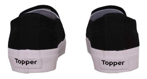zapatillas topper pancha kids-81523- open sports