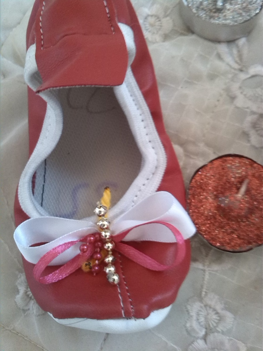 e2641fe0 Zapatillas (toreritas) Rojas Para Niña Talla 22 - Bs. 15.000,00 en ...