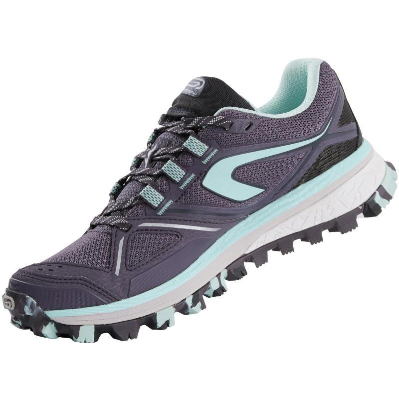 f0e91fea74e0b zapatillas trail running kiprun mt mujer violeta azul. Cargando zoom.