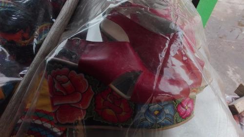 zapatillas trajes regionales istmeños tehuantepex oaxaca