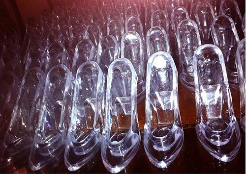 zapatillas trasparentes cenicienta
