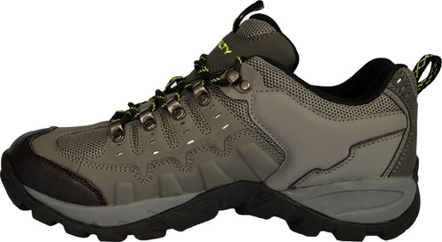zapatillas trekking-outdoor pampa gris-negro