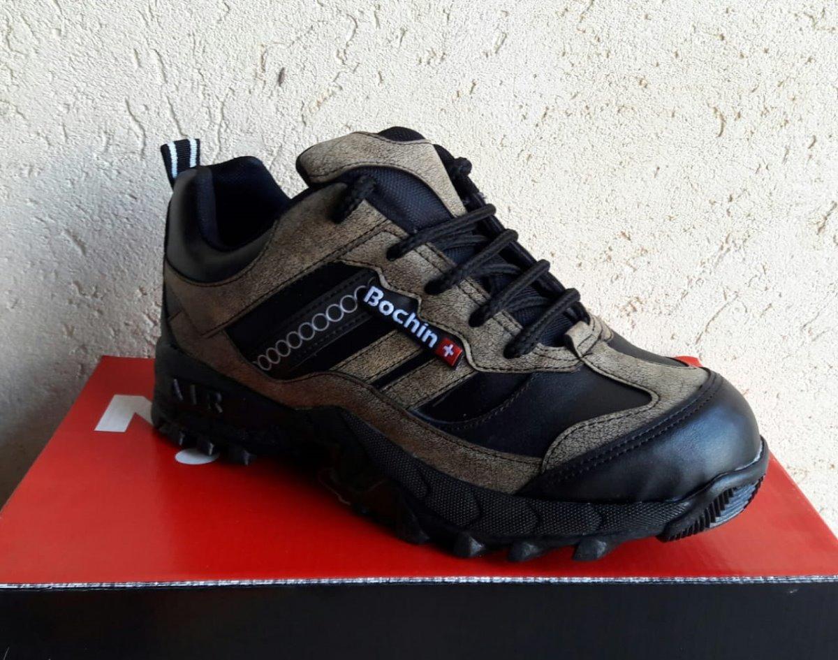f3d0a3e269 Zapatillas Trekking Trabajo Bochin Genuina Uso Diario. - $ 965,00 en ...