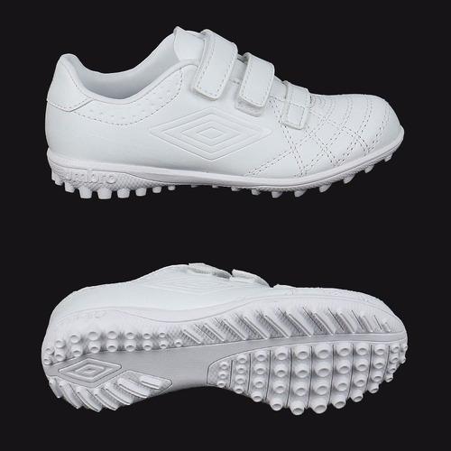 zapatillas umbro classico 4 blancas para niños t 28-34 ndpp