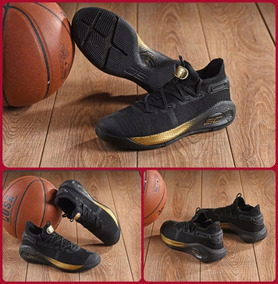 separation shoes 732cd 581cd Zapatillas Under Armour Curry 6 Black And Gold T  40-46