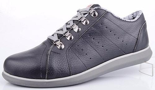 zapatillas urbanas 100% cuero base anti-deslizante 39/45