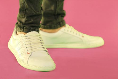zapatillas urbanas de cuero vacuno - curve