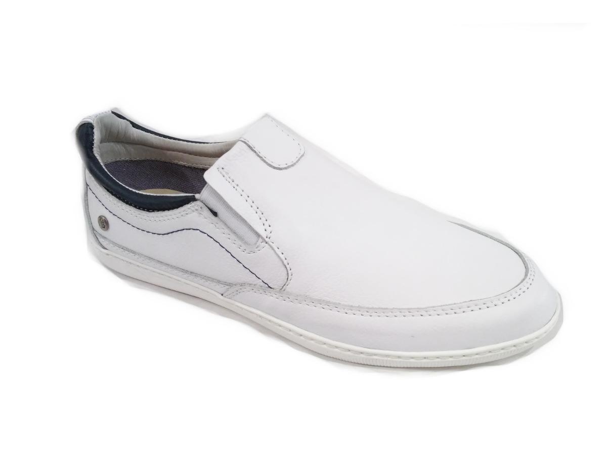 Zapatillas Urbanas De Hombre Blancas Cuero Marsanto 39 Al 45 ... 0ae06c2799a02