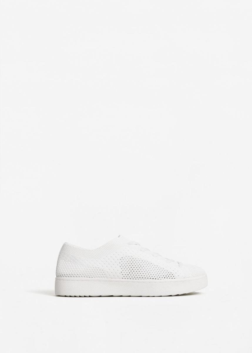 92e5974040ef5 zapatillas urbanas malla blancas importadas mango new. Cargando zoom.