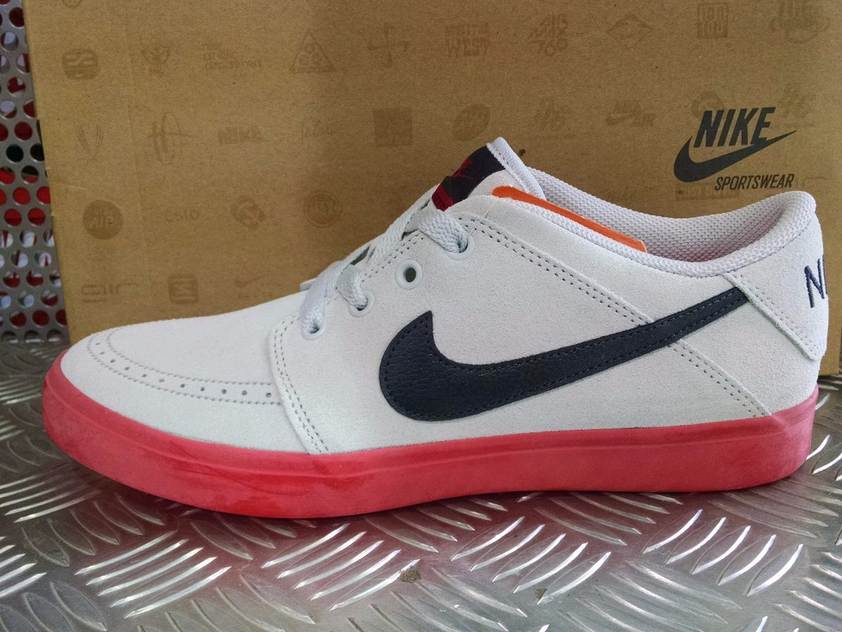 the latest 7506c 4c430 Nike Suketo Low Suede Zapatillas Urbanas Blancas 646591-004
