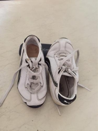 zapatillas usadas de marca. se entregan limpiaslumpias