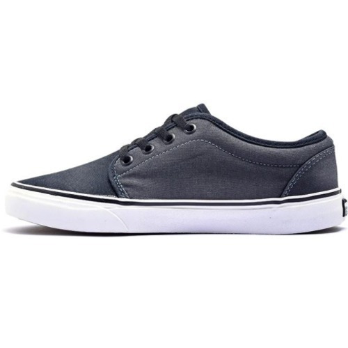 zapatillas vans 106 vulcanized dark shadow - envio