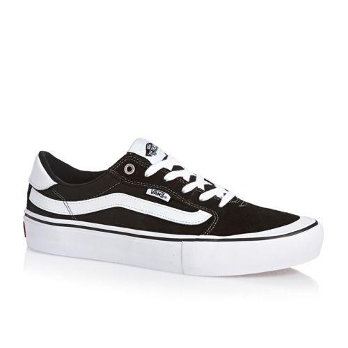 268bfda1d Zapatillas Vans 112 Pro Suede Canvas Skate Black   White Us ...
