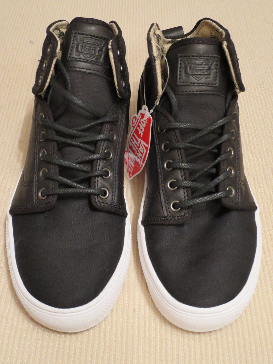 zapatillas vans tela