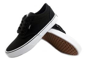 zapatillas vans hombre negras y blancas