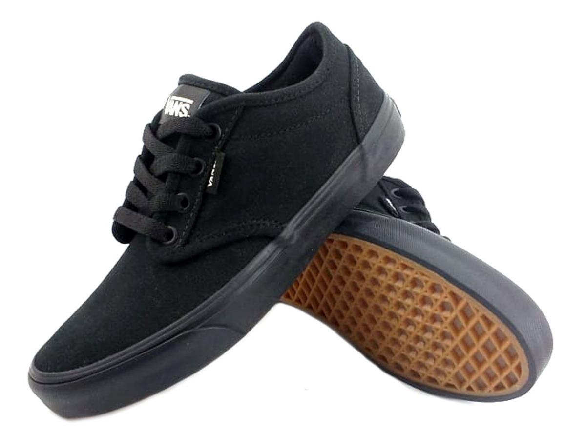a9f3599e5 zapatillas vans atwood negra urbana tuy186 eezap. Cargando zoom.