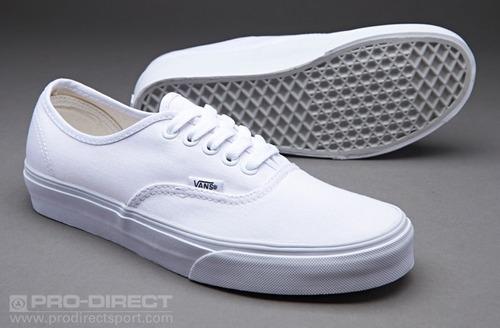 zapatillas vans aunthentic true white