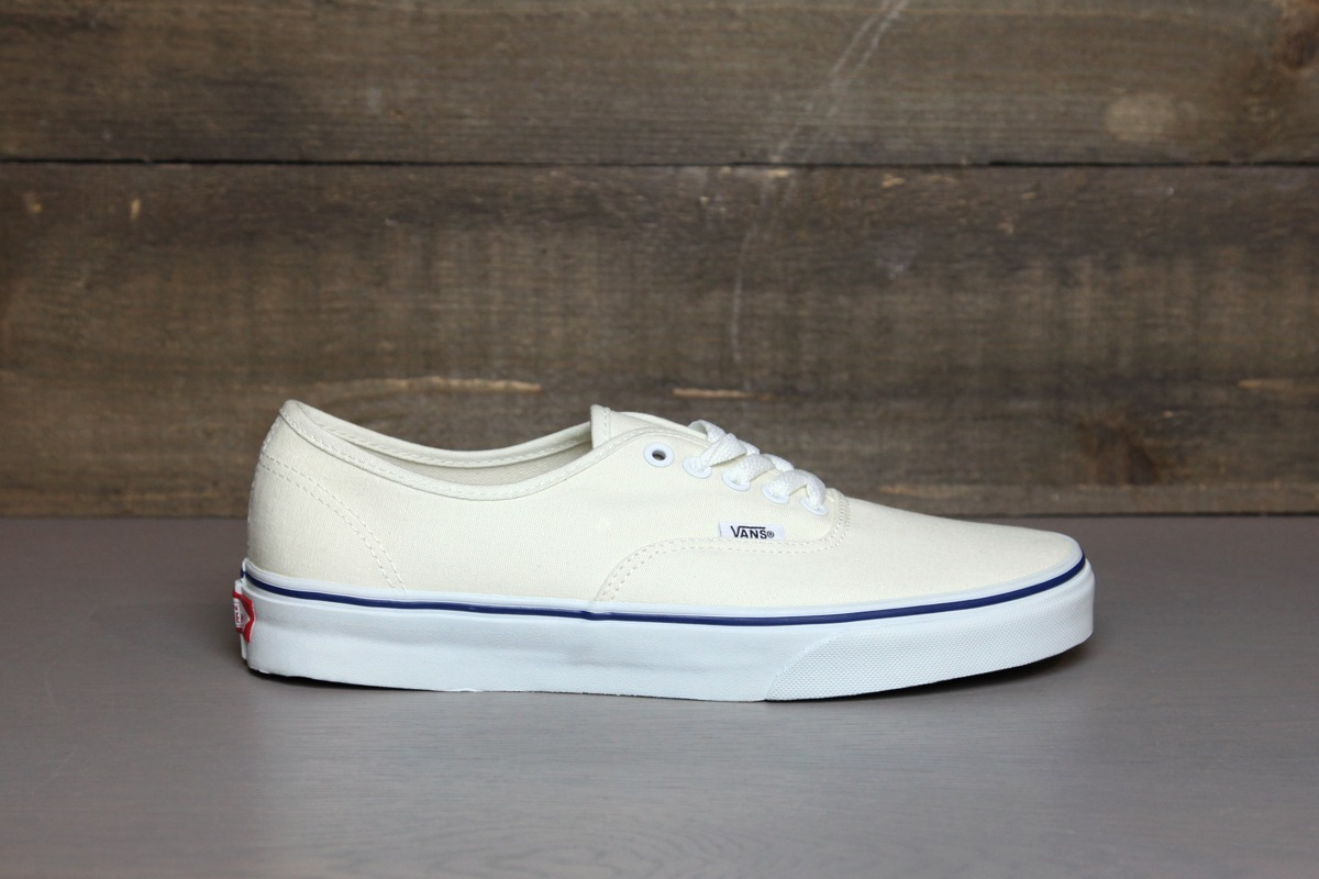 Zapatillas Vans Authentic Blanco Crema 35 36.5