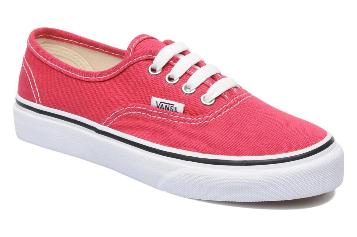 Zapatillas Vans Authentic Chicle Rouge