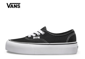 vans authentic negras plataforma