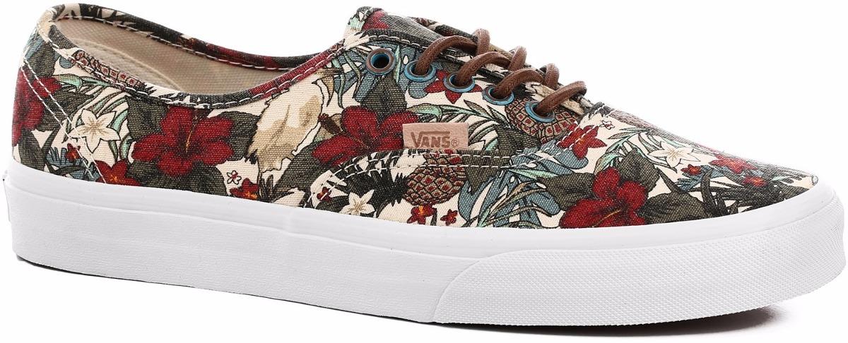 vans zapatillas floral