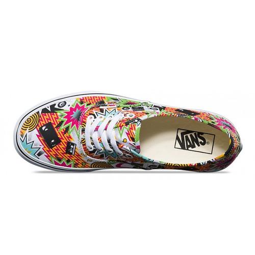 zapatillas vans authentic freshness mixed tape/tw - envios