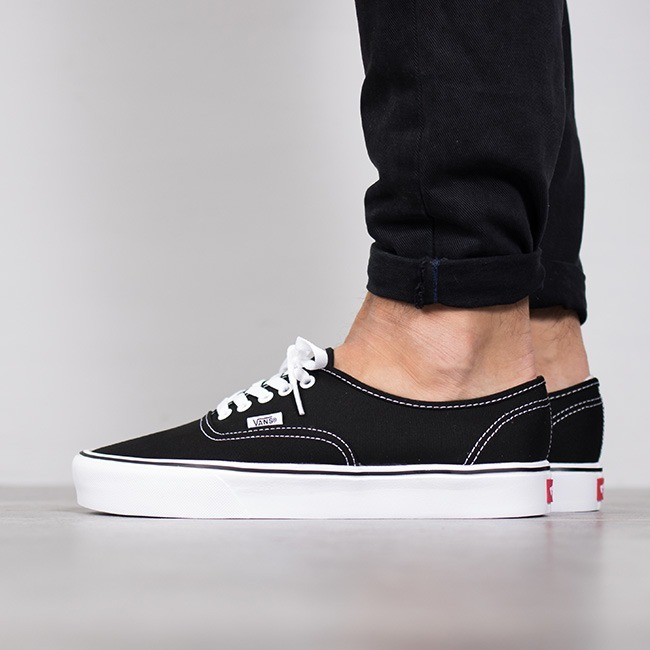 Authentic Lite Vans Super Negro Zapatillas Livianas 8XkNwOPn0Z