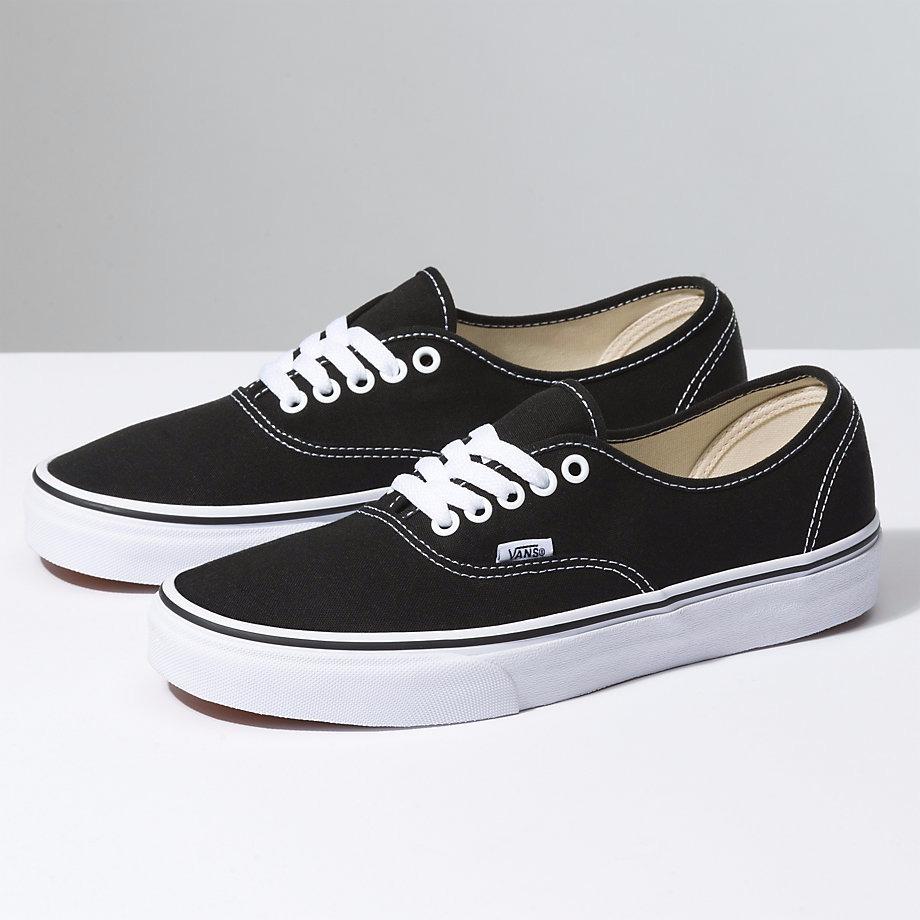 zapatillas negras vans mujer