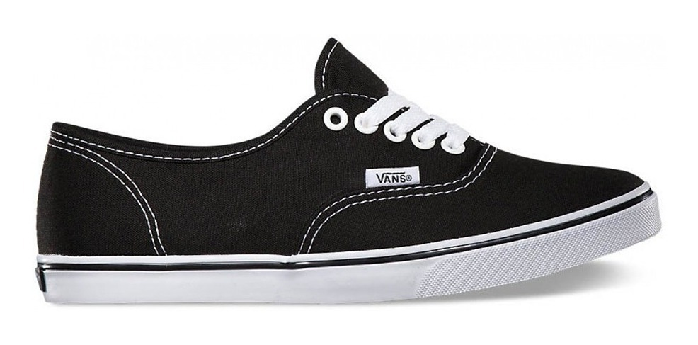 vans authentic mujer negras