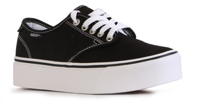 zapatillas vans mujer negras plataforma
