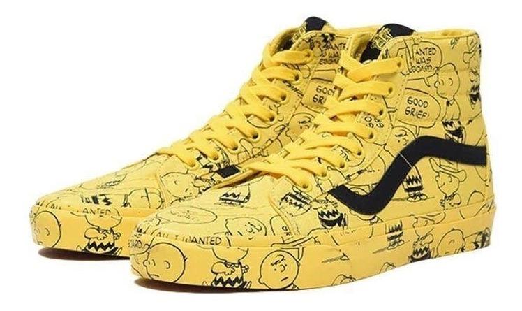 zapatillas vans snoopy hombre
