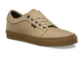 zapatillas vans marrones hombre