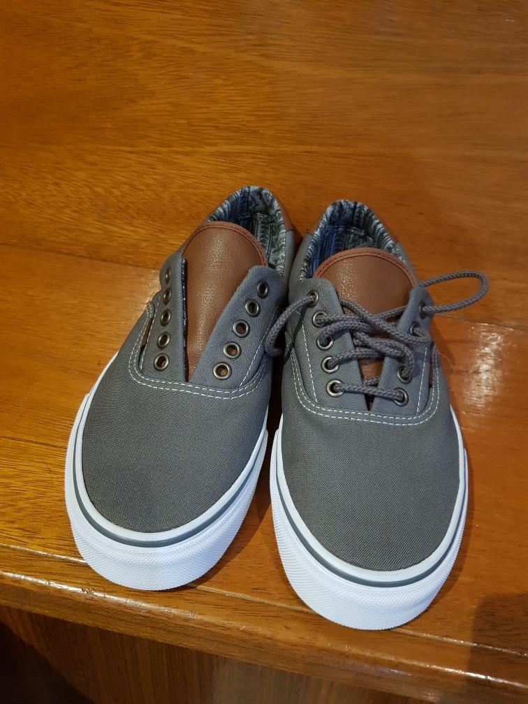 Cargando zoom... zapatillas vans color gris b7c0829b3c1