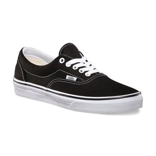 5e50276e49 Zapatillas Vans Era Classic Canvas Unisex Skate Black Us Ho ...