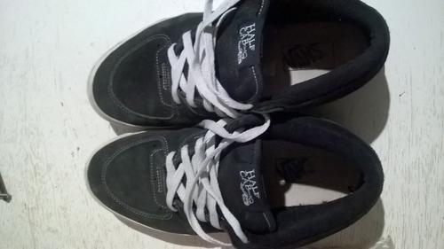zapatillas vans half cab talle 41,5 usadas