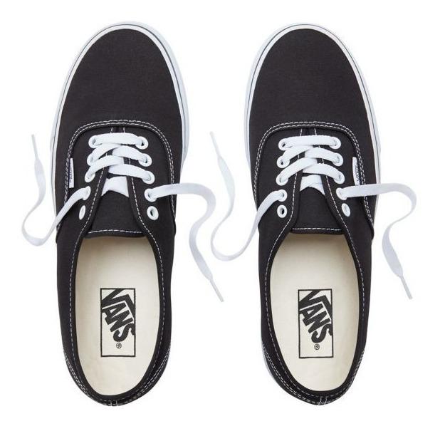 Zapatillas Vans Mod Authentic!!! 100% Original! Negro!!