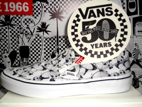 zapatillas vans mod slip on estampadas!! 100% exclusivos!!