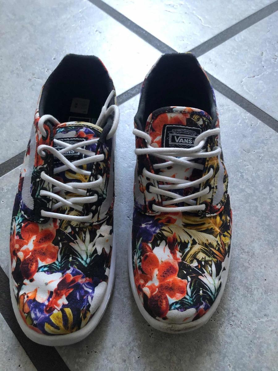 vans mujer zapatillas flores