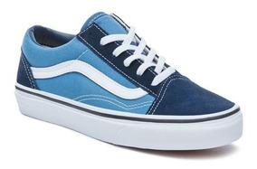 Vans Zapatillas Azul Old BlancoExclusivas Niño Niño Skool lKu1J3TFc