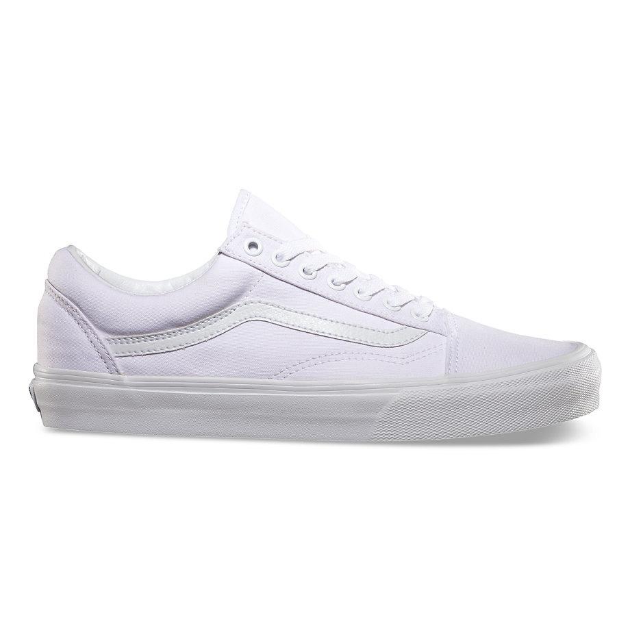 7a4faab7fe994 zapatillas vans old skool 100% original unisex toda blanca. Cargando zoom.