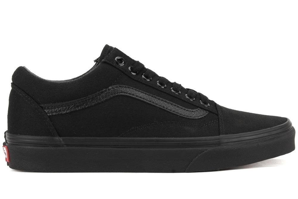 zapatillas vans old skool black black. Cargando zoom. e6761f44243